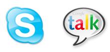 Skype y Google talk